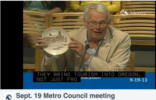Carl Wikman invites METRO councilors to attend the September 28th Event
